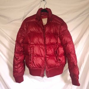 Red Puffy Jacket from Refuge